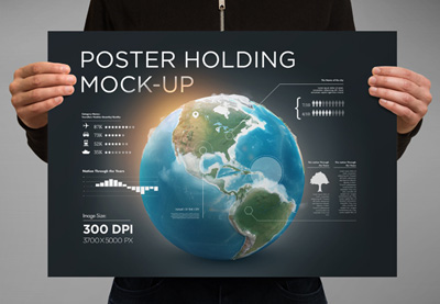 15 Photoshop Poster Mockup Templates: For Your Creative Designs | How To | Latest Technology News